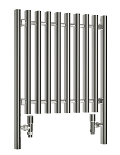 More info Reina Pianoro Chrome Designer Radiator 400 x 1200mm