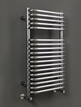 Phoenix Crysta 500 x 800mm Designer Heated Towel Rail