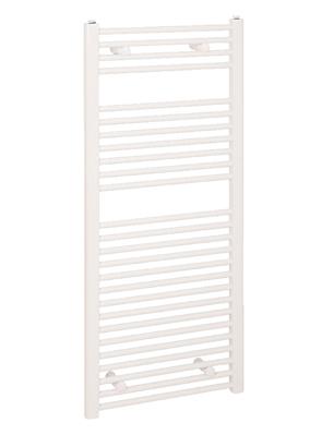 Reina Diva White Flat Heated Towel Rail 400 x 1200mm