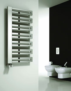More info Reina Ginosa Black 500 x 1000mm Designer Radiator