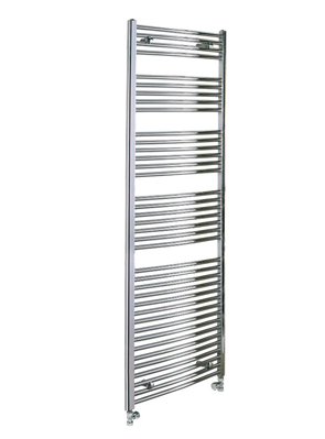 Reina Diva Chrome Flat Heated Towel Rail 750 x 1800mm