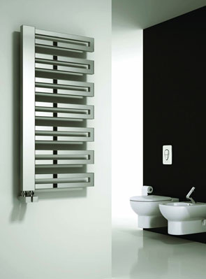 Reina Ginosa Chrome 500 x 1000mm Designer Radiator