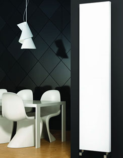 More info Reina Nero White Designer Radiator 300 x 1800mm