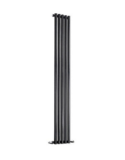 More info Reina Round Single Black Designer Radiator 295 x 1800mm