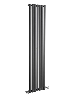 More info Reina Neva Anthracite Single Panel Vertical Radiator 413 x 1500mm