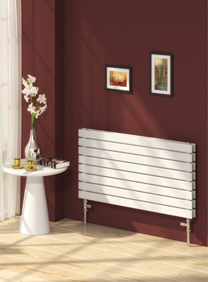 Reina Rione Double White Designer Radiator 1200 x 550mm