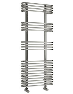 More info Reina Mirus 500 x 900mm Designer Chrome Radiator