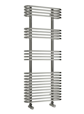 Reina Mirus 500 x 900mm Designer Chrome Radiator