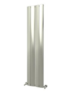 More info Reina Evago Polished Aluminium Vertical Radiator 225 x 1800mm