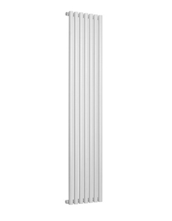 Related Reina Round Single White Designer Radiator 413 x 1800mm