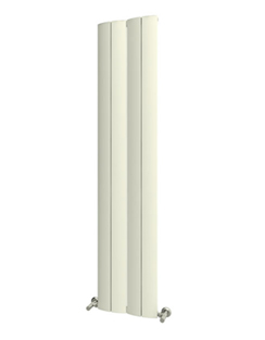 More info Reina Evago White Aluminium Vertical Radiator 225 x 1800mm