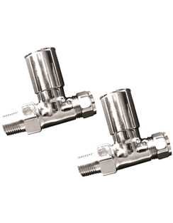Related Reina Portland Chrome Contemporary Straight Radiator Valves