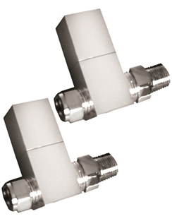 More info Reina Richmond Chrome Contemporary Straight Radiator Valves