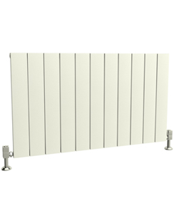 More info Reina Savona Horizontal White Aluminium Radiator 1040 x 600mm