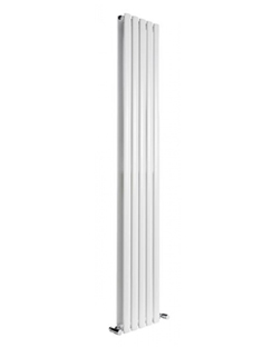 More info Reina Neva White Double Panel Vertical Radiator 413 x 1500mm