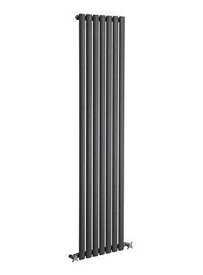 Reina Neva 295 x 1800mm Single Panel Vertical Radiator Anthracite