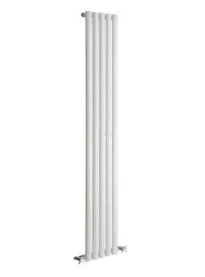 Reina Neva 295 x 1800mm Single Panel Vertical Radiator White