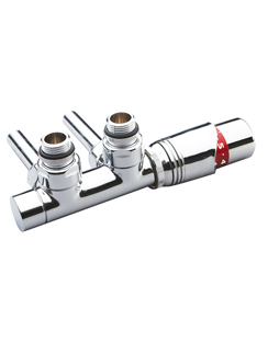 Related Phoenix Thermostatic Angled Chrome Twin Radiator Valves