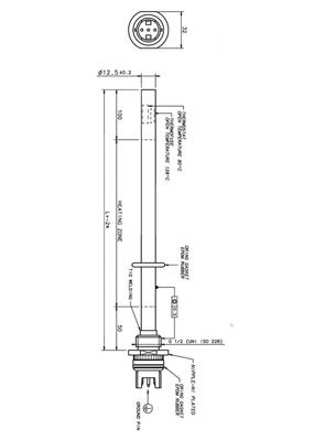 Phoenix Thermostatic 600 Watt Chrome Electric Heating Element