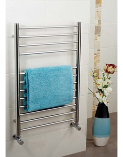 More info Apollo Garda Polished Stainless Steel Towel Warmer 400 x 1500mm