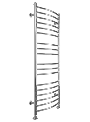SBH Maxi Curve 600 x 1300mm Stainless Steel Towel Radiator