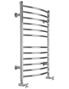 More info SBH Midi Curve 600 x 810mm Stainless Steel Towel Radiator