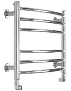 More info SBH Baby Curve 600 x 440mm Stainless Steel Towel Radiator