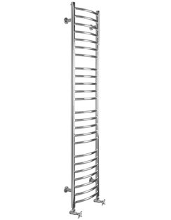 More info SBH Mega Slim Curve 360 x 1600mm Stainless Steel Towel Radiator