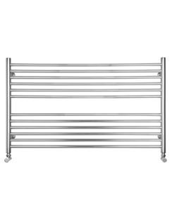 Related SBH Compact Wide Flat 1000 x 600mm Stainless Steel Towel Radiator