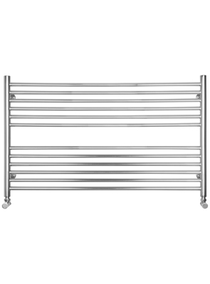 SBH Compact Wide Flat 1000 x 600mm Stainless Steel Towel Radiator