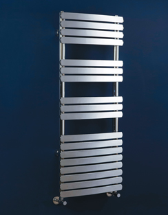 More info Phoenix Olivia Curved 500 x 1200mm Designer Heated Towel Rail