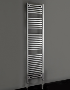 More info Phoenix Sophia 500 x 1200mm Chrome Designer Heated Towel Rail