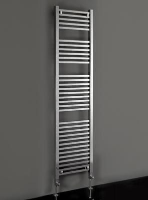 Phoenix Sophia 500 x 1800mm Chrome Designer Heated Towel Rail