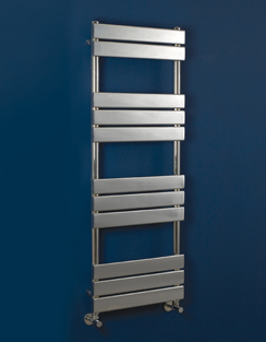 More info Phoenix Sorento 500 x 950mm Chrome Designer Heated Towel Rail