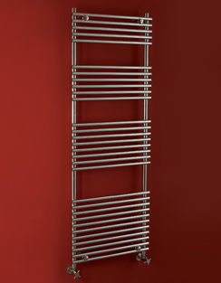 More info Phoenix Demi 600 x 1200mm Chrome Designer Heated Towel Rail