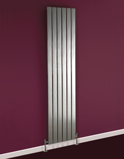More info Phoenix Orla Tall 300 x 1200mm Chrome Designer Radiator