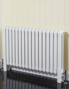 More info Phoenix Lilly Horizontal 1032 x 400mm White Designer Radiator