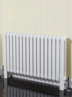 Phoenix Lilly Horizontal 556 x 600mm White Designer Radiator