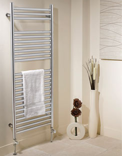 More info Apollo Venezia Contemporary Towel Rail 500 x 800mm Chrome