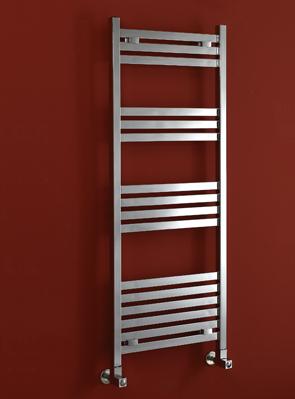 Phoenix Davina 500 x 800mm Designer Heated Towel Rail