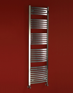 More info Phoenix Rochell Curved 500 x 1200mm Designer Heated Towel Rail