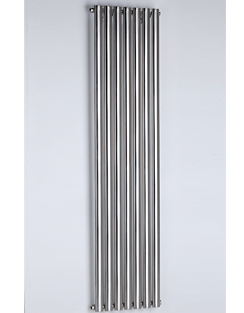 Related MHS Arc Single Brushed Stainless Steel Designer Radiator 800 x 600mm