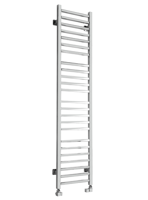 SBH Mega Slim Square 360 x 1600mm Stainless Steel Towel Radiator