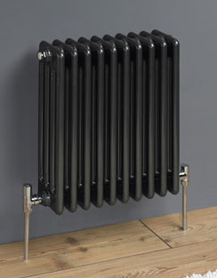More info MHS Multisec Anthrasec 3 Column 3 Sections Steel Radiator 135 x 592mm