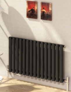 More info Reina Sena Black Designer Radiator 395 x 550mm
