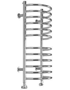 More info SBH Midi Half Moon 360 x 810mm Stainless Steel Towel Radiator
