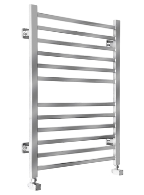 SBH Midi Square 520 x 810mm Stainless Steel Electric Towel Radiator