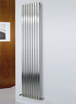 MHS Arturo Brushed Stainless Steel Radiator 590 x 1200mm