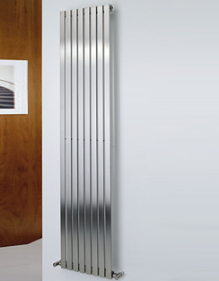 More info MHS Arturo Brushed Stainless Steel Radiator 490 x 600mm