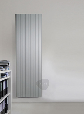 MHS Alumina 525 x 1600mm White Aluminium Designer Radiator